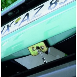 Friskluftskrog til bilens bagdør, med dreje-led 12 cm.