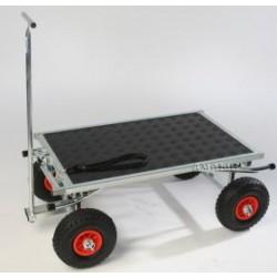 Amalie Offroader Trolley/trimmebord 87 x 55 cm med galge og hjul