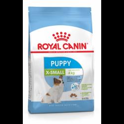Royal Canin XSmall Puppy - fra 2 til 10 måneder. Voksenvægt op til 4 kg.