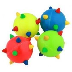 Kattelegetøj ass. farverige Space bolde. 4 stk.