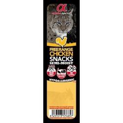 AlphaSpirit CAT bløde snack til katte. Indeholder IKKE korn. 35 g.