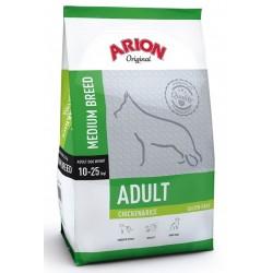 Arion Original Adult Medium Breed hundefoder med Kylling og Ris. Til hunde mellem 1-8 år, der vejer 10-25 kg. 12kg