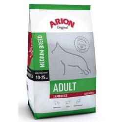 Arion Original Adult Medium Breed hundefoder med Lam og Ris. Til hunde mellem 1-8 år, der vejer 10-25 kg. 12kg