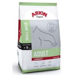 Arion Original Adult Small Breed hundefoder med Lam og Ris. Til hunde mellem 1-9 år, der vejer op til 10 kg. 7,5kg