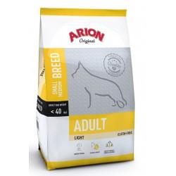 Arion Original Adult Light Small/Medium hundefoder til hunde med tildens til overvægt, der vejer under 40 kg. 12kg