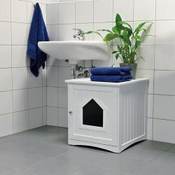 WC-hus til kattebakke