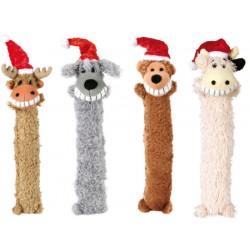 De lange glade Jule-bamser med piv. ca. 34 cm. Ass.