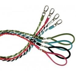 Cinopelca Rundsyet/snoet to farvet læderline