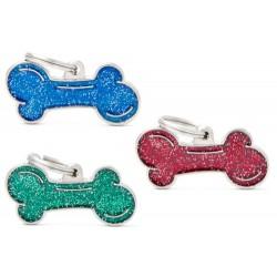 Hundetegn, glitter ben