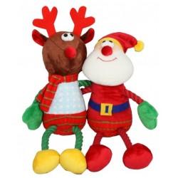 HugTugz Julebamser med reb-arme og -ben