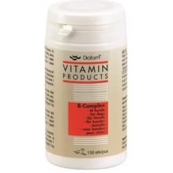 Diafarm B-Complex. B-vitamintabletter til hunde. Dåse á 130 stk.