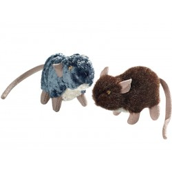 Kattens Rotte-venner fra Hunter. 2 stk. grå + brun