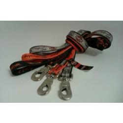 """Hundesnor """"Harley-Davidson"""" vælg mellem 3 farver. Længde 120 cm."""