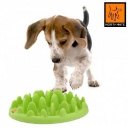 Northmate Green spis-langsomt skål. MINI. Passer til hvalpe samt mindre hunde op til 7-9 kg.