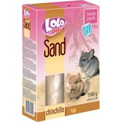 LoloPets Badesand til chinchilla. 1,5 kg