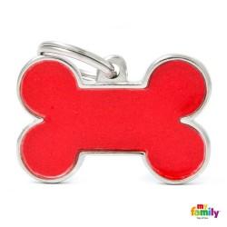 Hundetegn. Rødt reflekterende ben