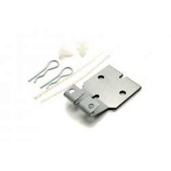Easy fix burBESLAG til at ophænge din Road Refresher / antispildeskål skål på buret.