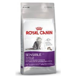 Royal Canin Sensible 33. Til voksne katte over 1 år med følsomt fordøjelsessystem.