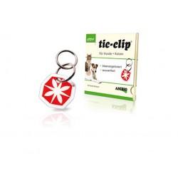 Anibio Tic-clip til hunde og katte, beskytter mod lopper og flåter