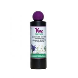 KW nature Økologisk Shampoo med kamille- lavendel- Og rosmarinolie.