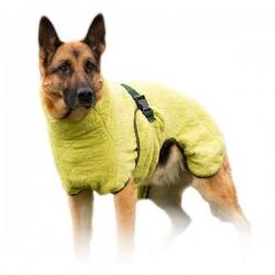 WetDog Classic Bambus hunde-bade-kåbe. Absorberer 80 % af fugten fra hunden inden for 10 min.